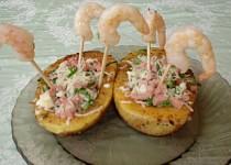 Grilované pikantní krevety