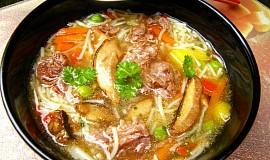 Hovězí polévka - přesnídávková