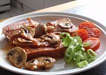 Lančmít (luncheon meat) v alobalu