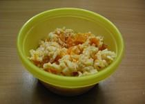 """Pro nejmenší - Rizoto s mrkví sýrem a rajčaty"""""""