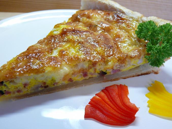 Quiche lorraine-slaný koláč