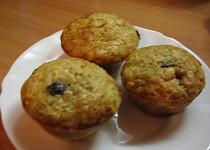 Rozinkový muffins s ovesnými vločkami