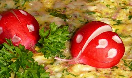 Snídaňová rychlá omeleta