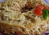Špagetová bábovka