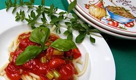 Špagety s pomarolou