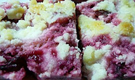 Švestkový koláč kynutý-nekynutý