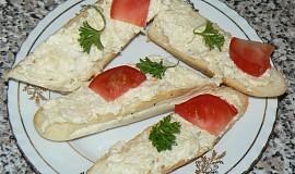 Sýro-česneková pomazánka
