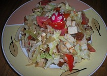 Tofu s kapustou
