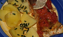 Tolstolobik na rajčatech