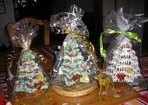 Vánoční perníkový stromeček