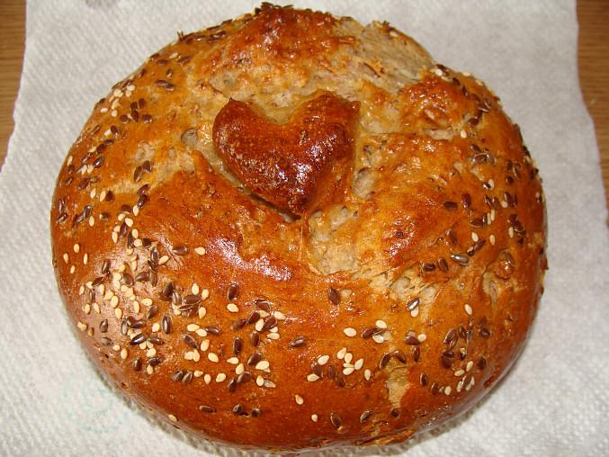 Chlebík z bagetkového těsta
