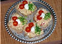 Bramborová chlebíčková pomazánka