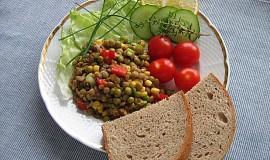 Čočkový salát - light