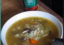 Kuřecí chilli polévka s rýží