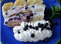 Nepečený ovocný dort