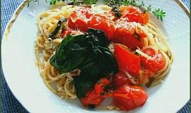 Těstoviny po italsku - light
