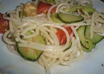 Zeleninové špagety.