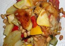 Zeleninová balkánská směs s fazolemi