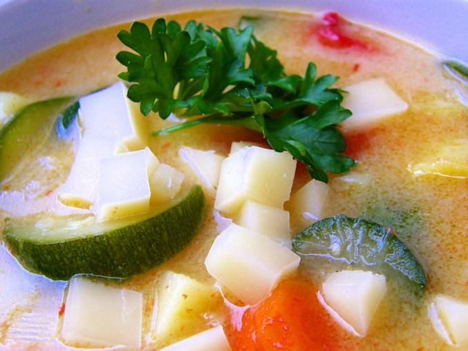 Bramborová polévka  mexická