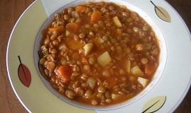 Dietní čočková polévka