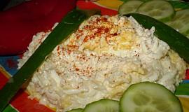 Orientální rýžový salát