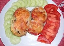 Pečené brambory s lilkovo cuketovou náplní