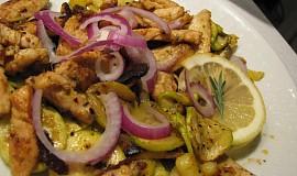 Řecké voňavé citrónové kuře
