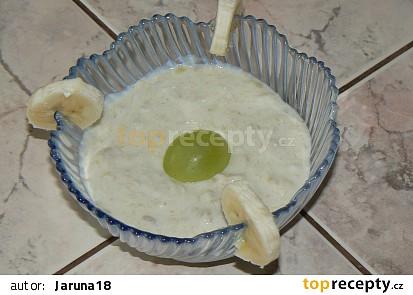 Sladká banánová pomazánka