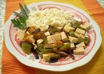 Tofu na zelenině