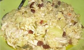 Bezpracné kuře s rýží