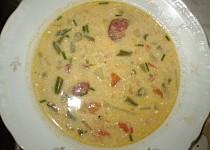 Fazolková polévka s kroupama