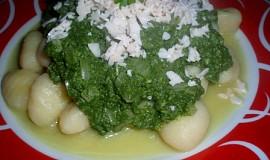 Gnocchi se sýrovým špenátem