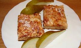 Hruškovo-jablečný koláč (i pro diabetiky)