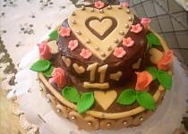 Ořechový dort II. k jedenáctinám