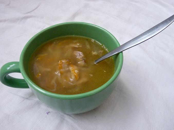 Polévka z pečených krůtích krků, Polívčička