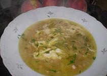 Pórková polévka s cizrnou
