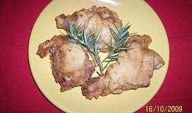 Smažené kuře po Toskánsku
