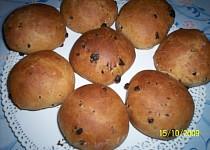 Snídaňové bochánky s čokoládou