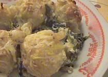Zapečené knedlíčky s mangoldem