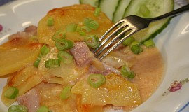 Zapékané brambory jemné chuti