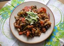 Zeleninová pánev s houbami / dietni