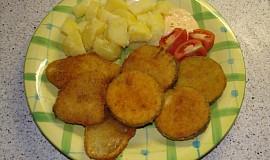 Zeleninové řízečky - cuketa a patizon