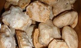 Arašídové sněhové hrudky - cukroví