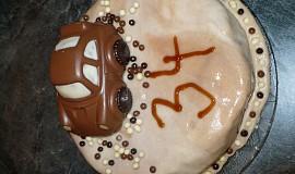 Autíčko - dort