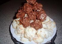 Kokosové pusinky s tvarohem