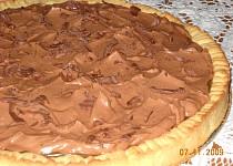Koláč s karamelem a čokoládovým krémem