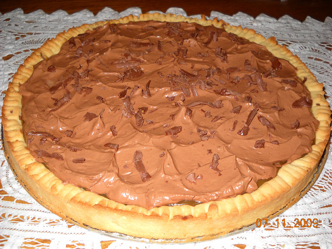 Koláč s karamelem a čokoládovým krémem, Koláč s karamelem a čokoládovým krémem