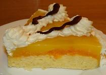 Mandarinkový dortík