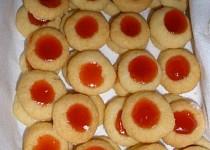 Náprstkové koláčky - cukroví