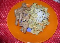 Prsíčka s pikantní šťavnatou rýží